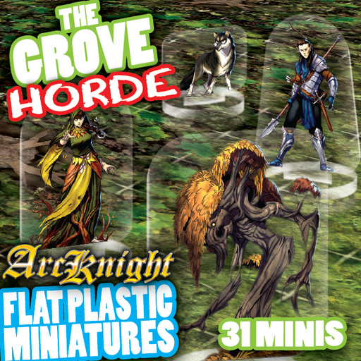 Arcknight Tokens - The Grove Horde