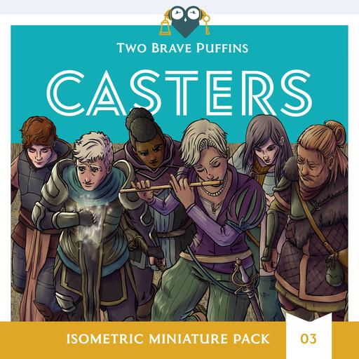 Casters - Isometric Heroes Pack 03