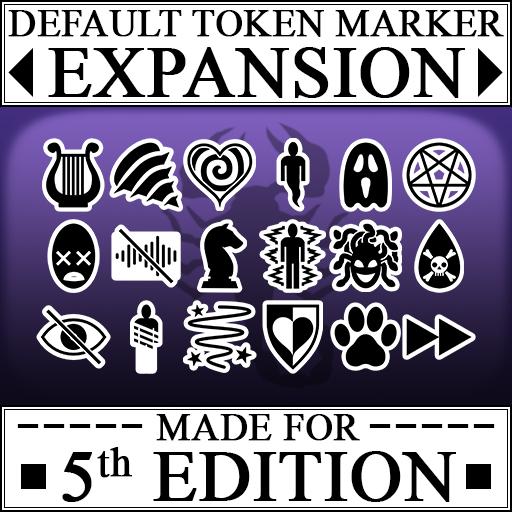 Default Token Marker Expansion for 5e