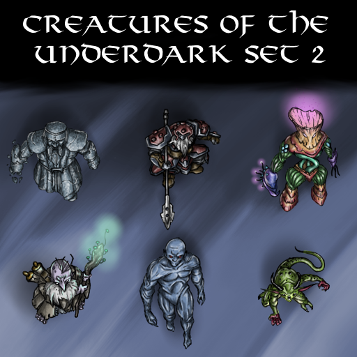 Creatures of the Underdark Set 2