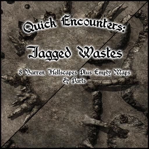 Quick Encounters: Jagged Wastes