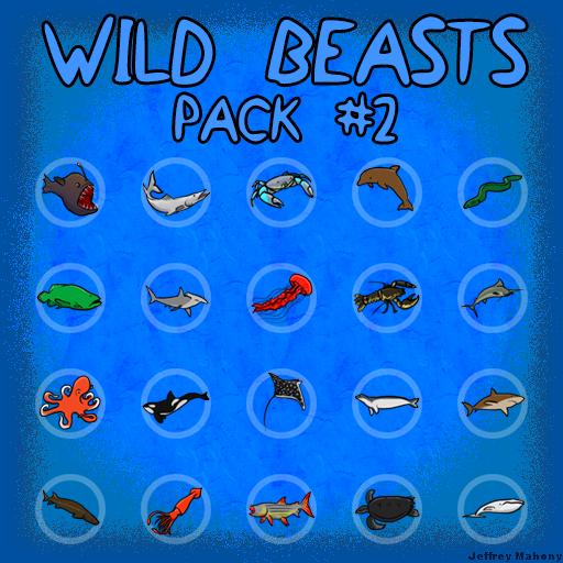 Wild Beasts Pack #2