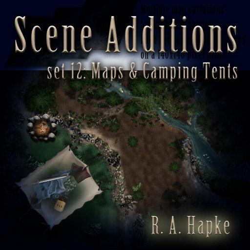 Scene Additions Set 12: Maps & Camping Tents