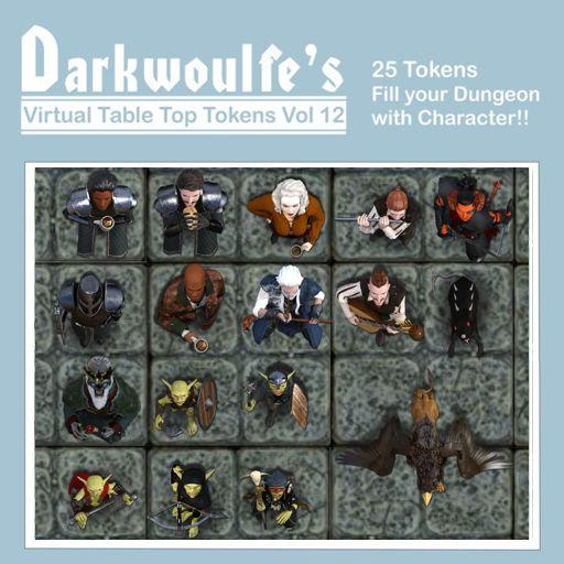 Darkwoulfe's Token Pack Vol12 - Tales from the Lucky Lass 2