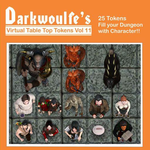 Darkwoulfe's Token Pack Vol11 - Tales from the Lucky Lass