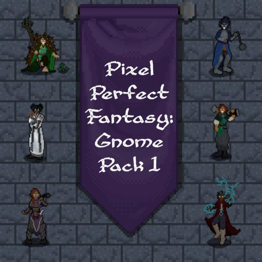 Pixel Perfect Fantasy: Gnome Pack 1