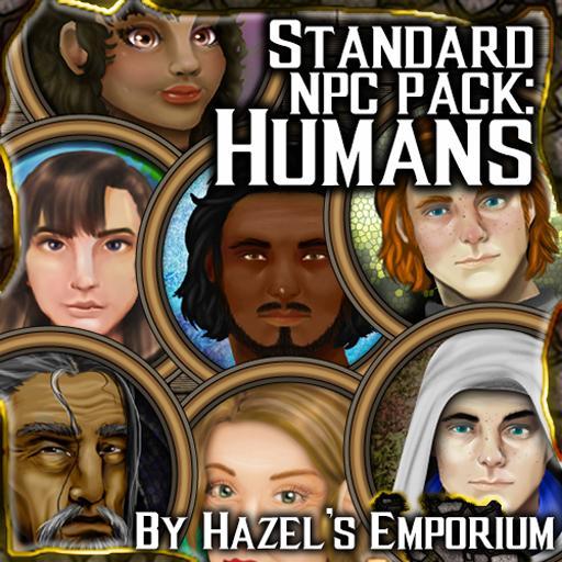 Generic NPCs - Humans - 24 tokens!