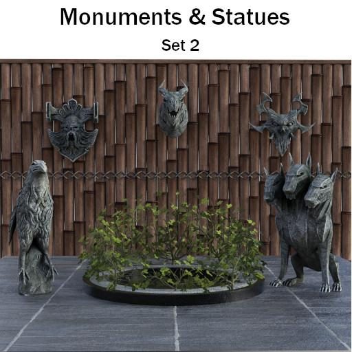 Monuments & Statues: Set 2