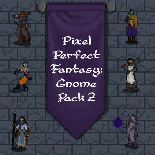 Pixel Perfect Fantasy: Gnome Pack 2