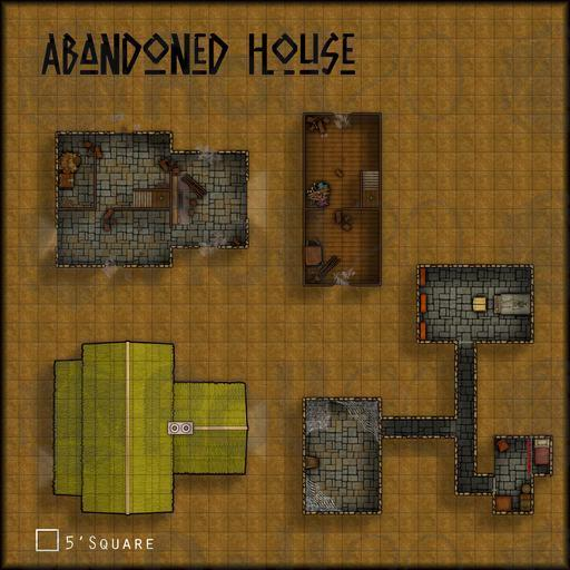 Adventure pack hamlet roll20 marketplace digital for 30x30 house map