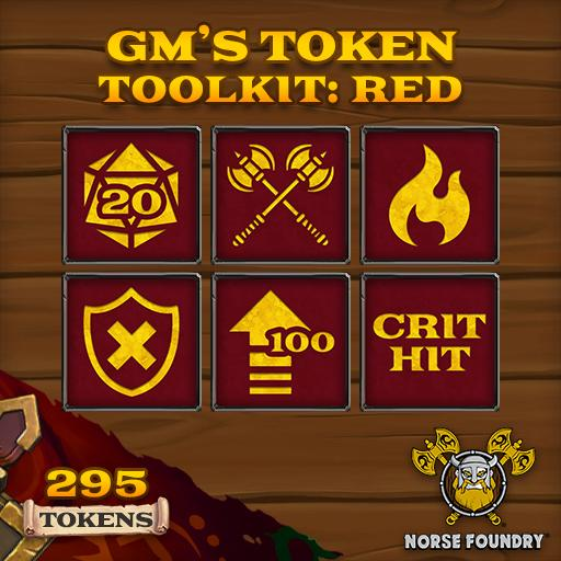 GM's Token Toolkit - Red/Gold