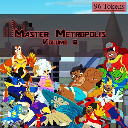 Master Metropolis Volume 9