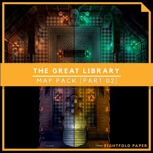 The Great Library [Part 2] - Battlemap