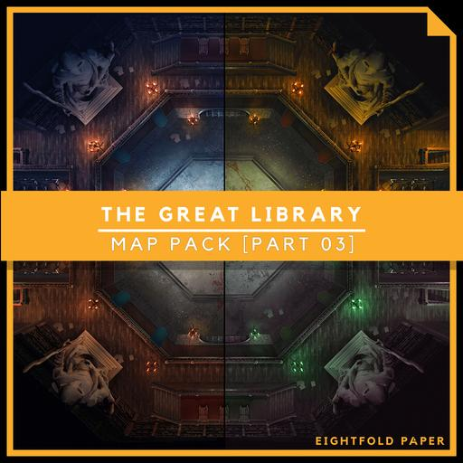 The Great Library [Part 3] - Battlemap