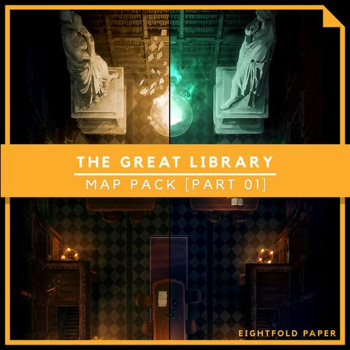 The Great Library [Part 1] - Battlemap