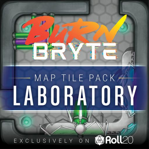 Burn Bryte Map Tiles - Laboratory