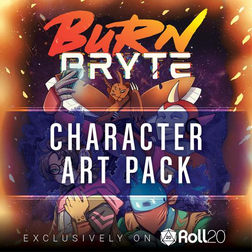 Burn Bryte Core Rulebook - Character Art Pack