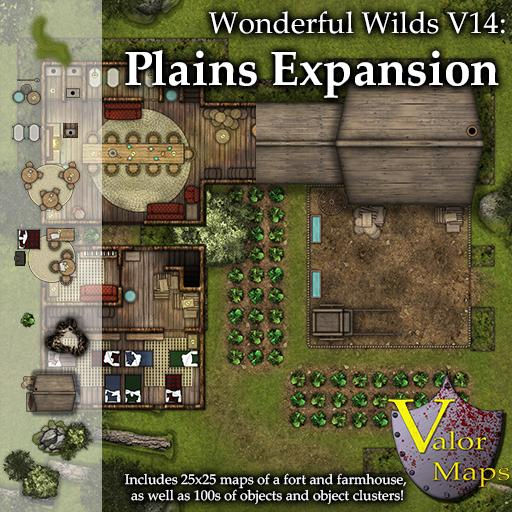 Wonderful Wilds V14: Plains Expansion