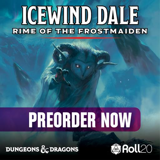 Icewind Dale: Rime of the Frost Maiden