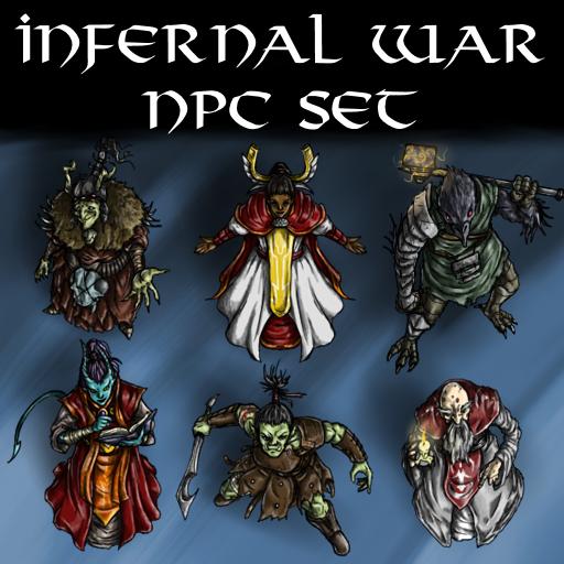 Infernal War NPC Set