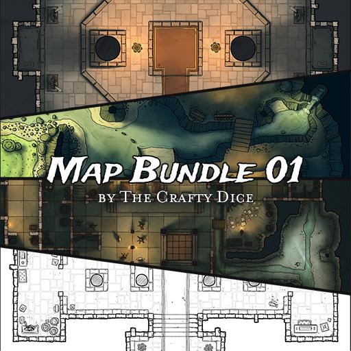 Map bundle 01 - by TheCraftyDice