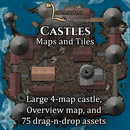 Castles: Maps and Tiles