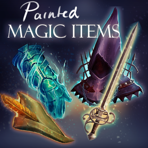 Painted Magic Items