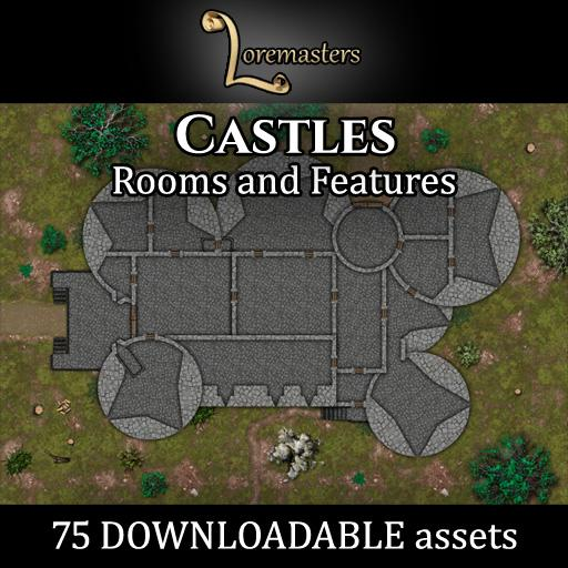 Castles: Rooms and Features