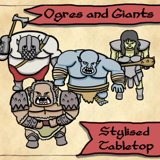 Giants and Ogres - Stylised Tabletop