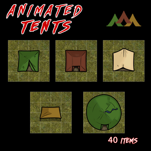 Animated Tents