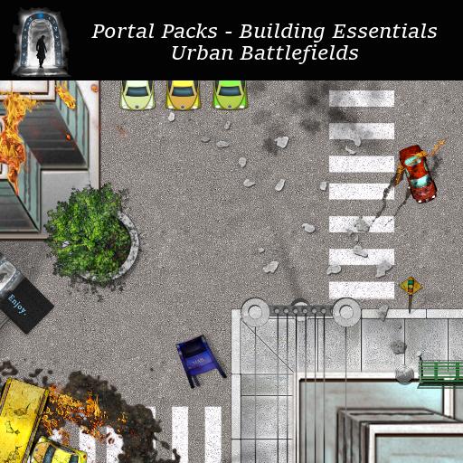 Portal Packs - Building Essentials - Urban Battlefields