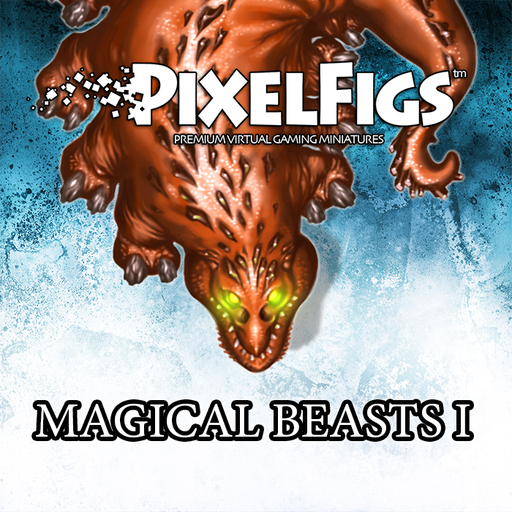 PixelFigs™ Magical Beasts I