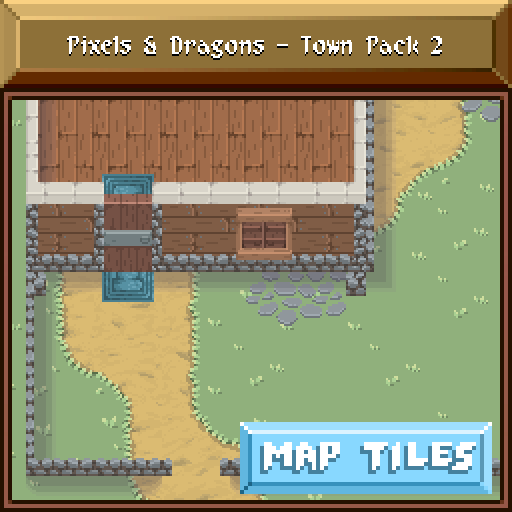 Pixels and Dragons - Town Pack 2