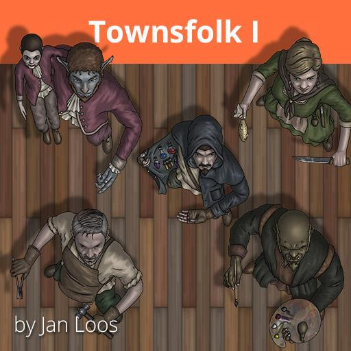 Jans Token Pack 19 - Townsfolk 1