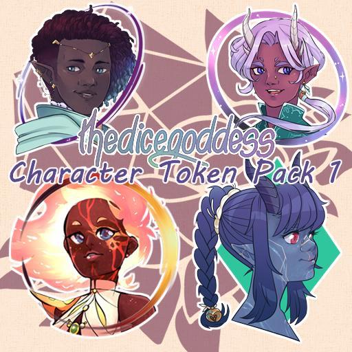 Character Token Pack 1
