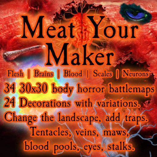 Meat Your Maker Battlemap Kit
