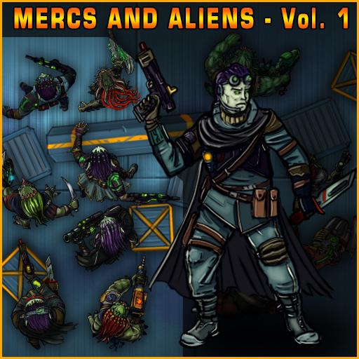 Mercs And Aliens Vol.1