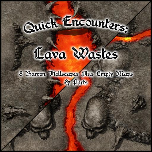 Quick Encounters: Lava Wastes
