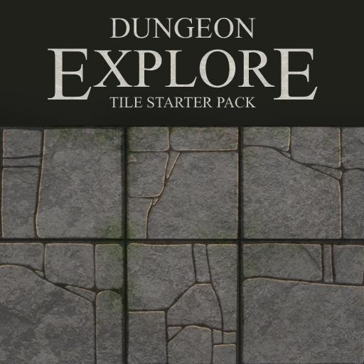 Dungeon Explore - Premium Starter Set