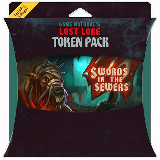 Swords In The Sewers Token Pack