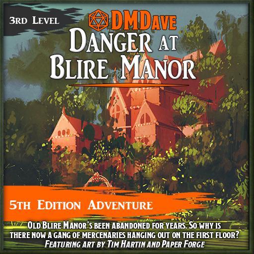 Danger at Blire Manor