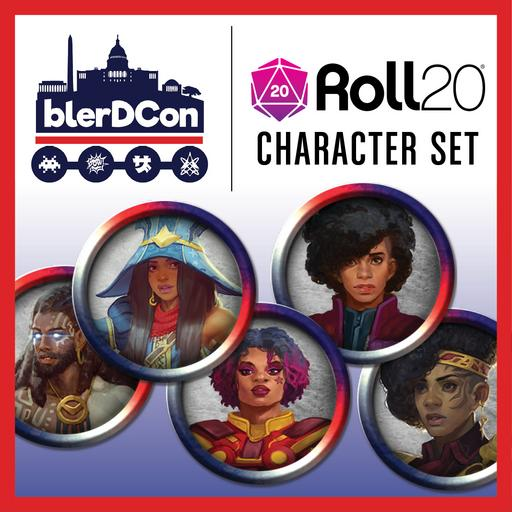 Blerdcon Character Set