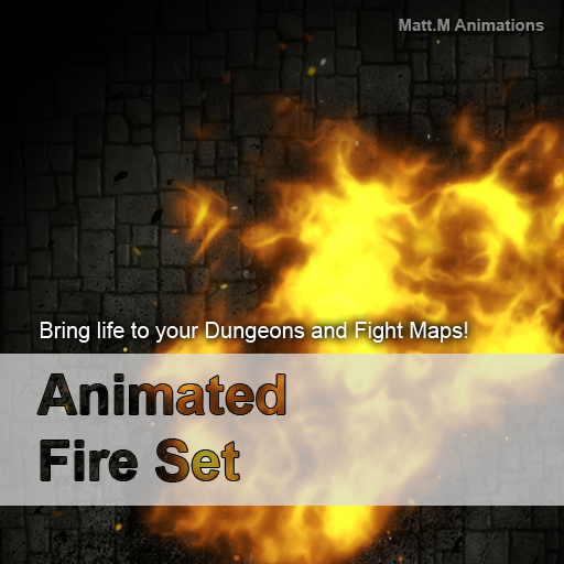 Animated Fire Set