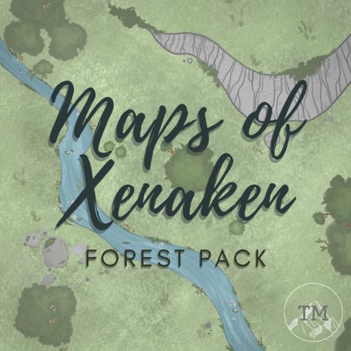 Maps of Xenaken: Forest Pack