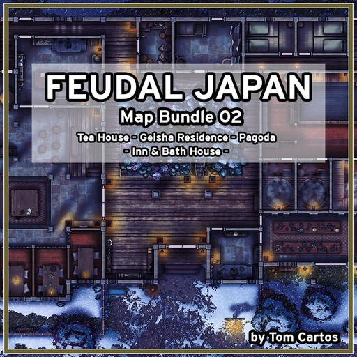 Feudal Japan Map Bundle 02