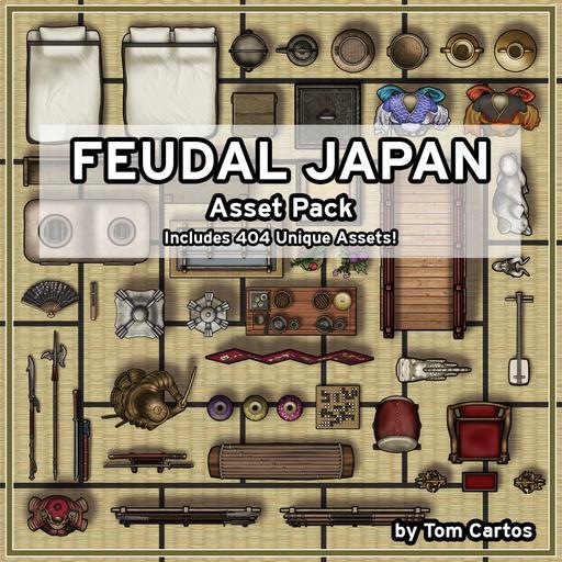 Feudal Japan Asset Pack