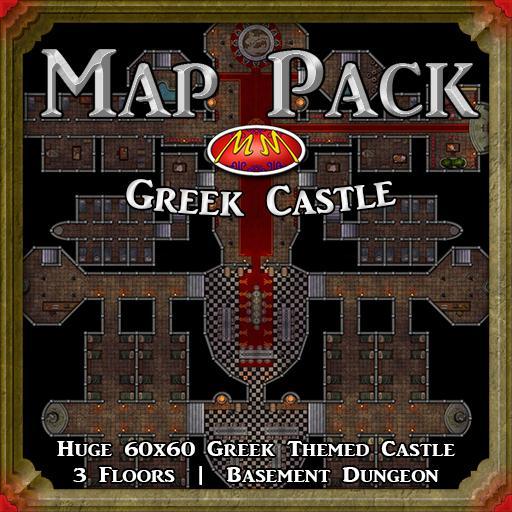 Map Pack V27 Greek Castle