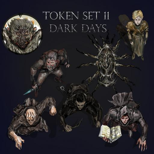 Token Set # 11 Dark Days