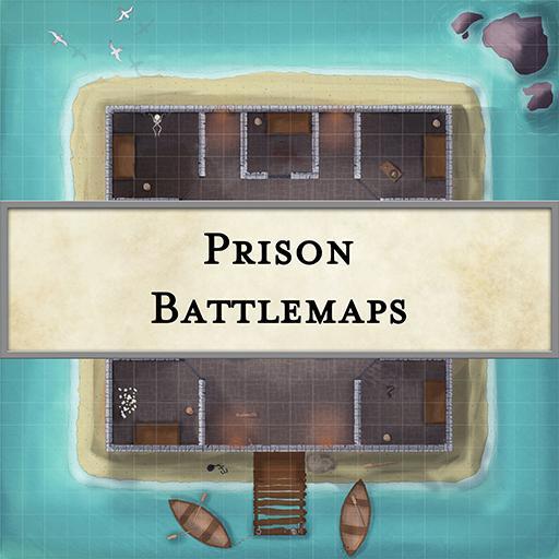 Prison Battlemaps