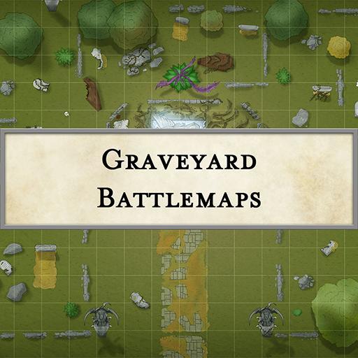 Graveyard Battlemaps
